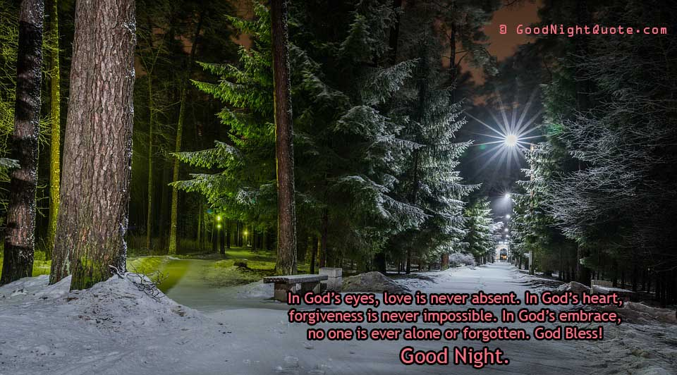 God Bless you Good Night Quotes