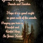 Good Night Jesus Quotes