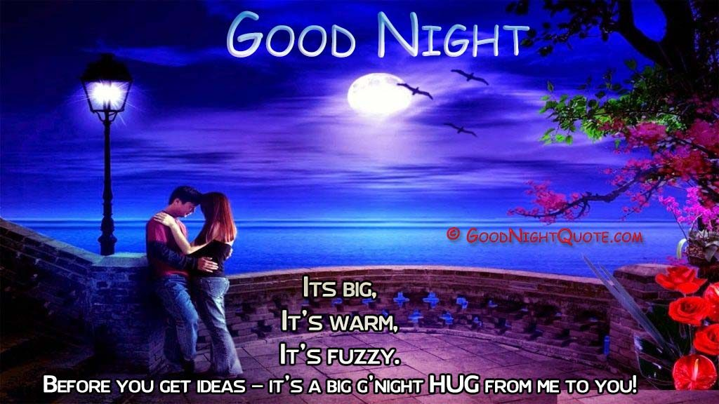Good Night Romantic Beautiful 3d Love Wallpaper