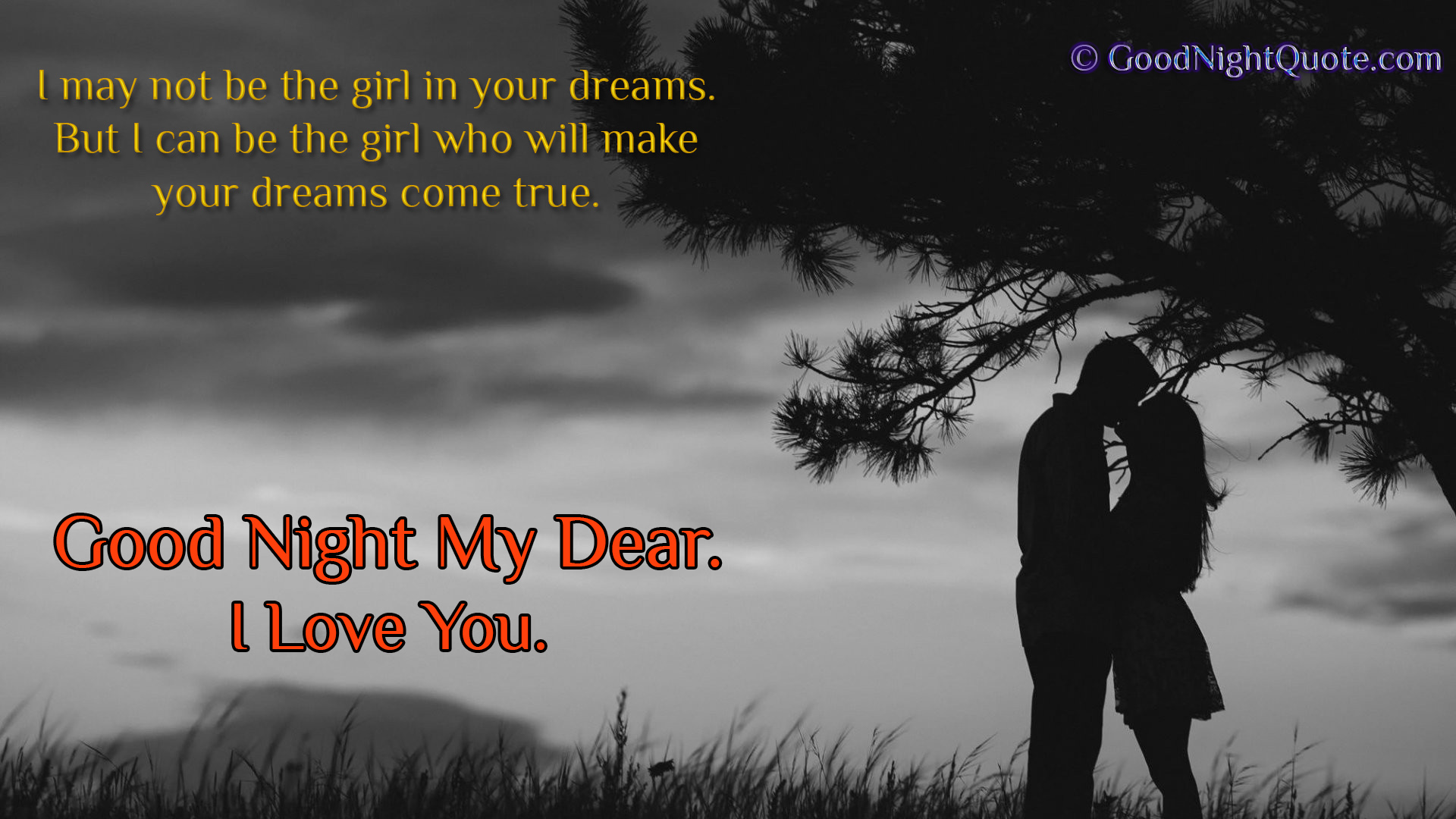 Quotes Good Night Cute And Romantic I Love You Good Night Imageswallpapers For