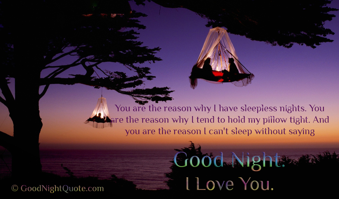 Cute And Romantic I Love You Good Night Images Wallpapers For Boyfriend
