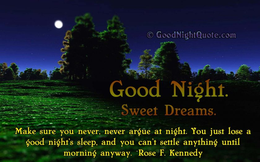 Funny Good Night Messages - Best quote for good sleep with moonlight magic