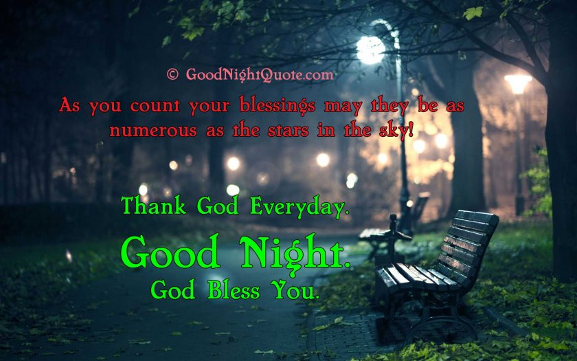 Good Night God Bless You Images - walk park hd wallpaper