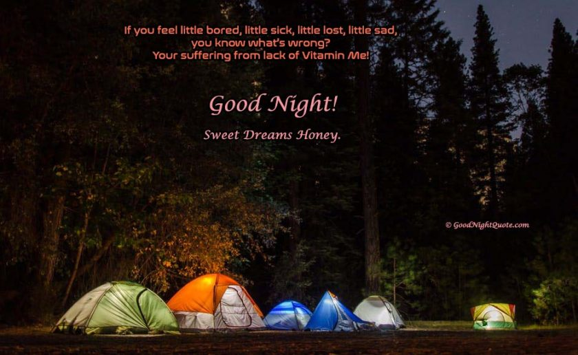 Funny & Creative Good Night Greetings for Her