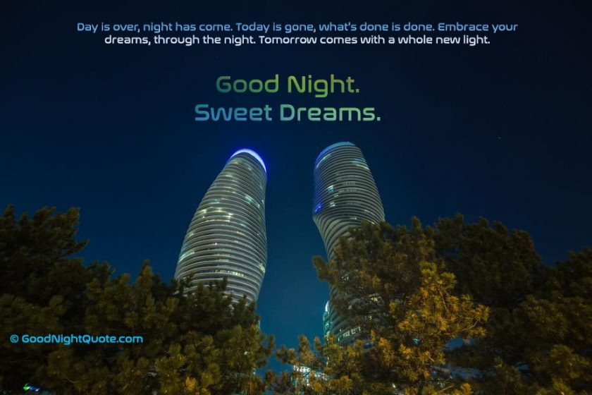 Good Night HD Images - Curvy Towers