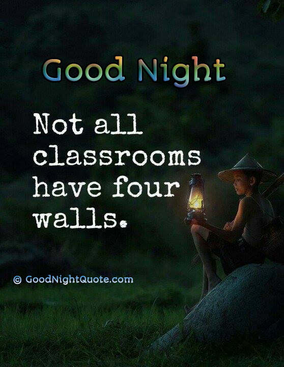 Inspirational Good Night Sayings - Good Night Quotes Images