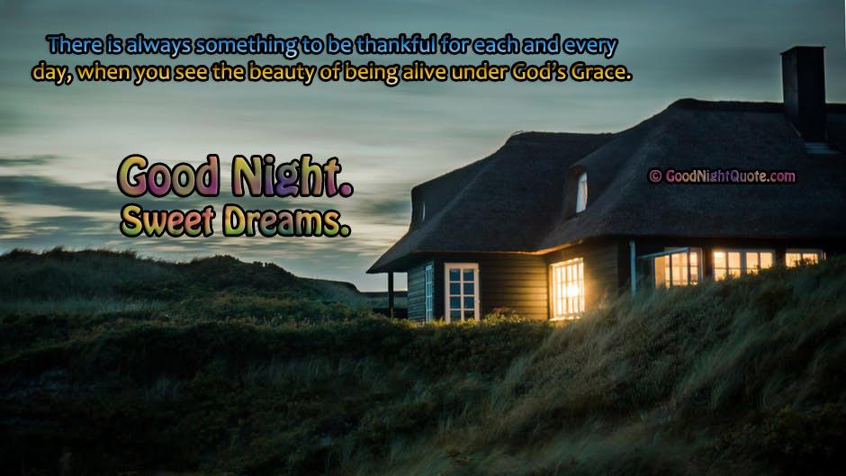 Good Night God Saying