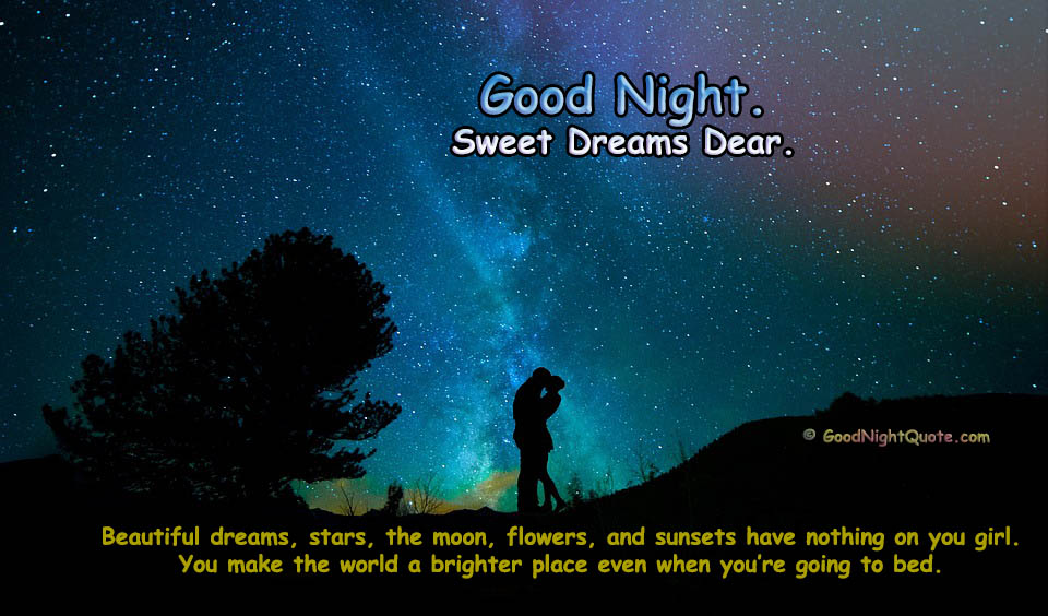 Good Night Love Saying for Her