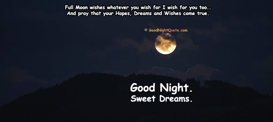 Good Night Moon Sayings Wallpaper