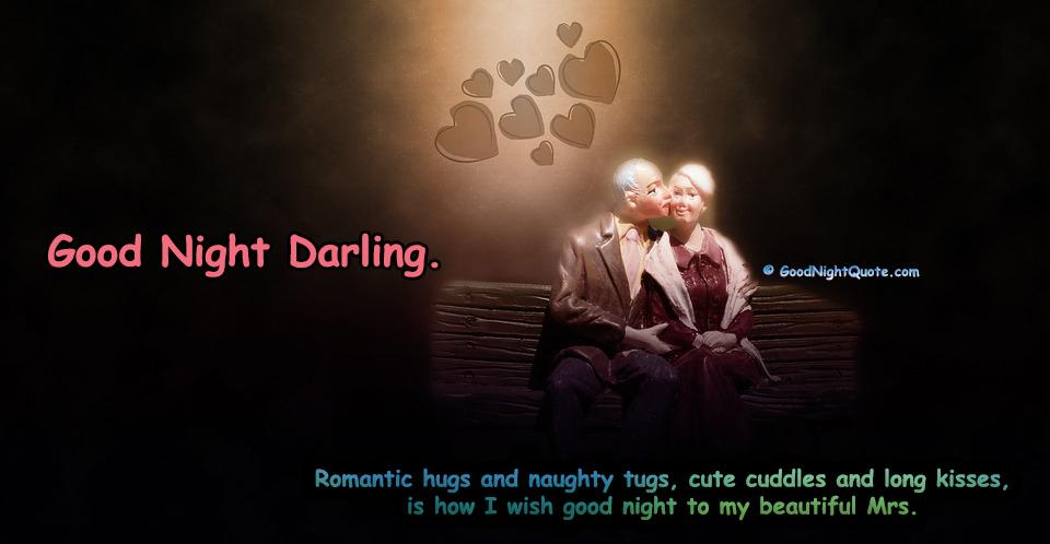 Romantic Good Night Sayings for Wife