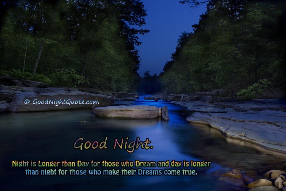 Day vs Night Inspirational Good Night Sayings