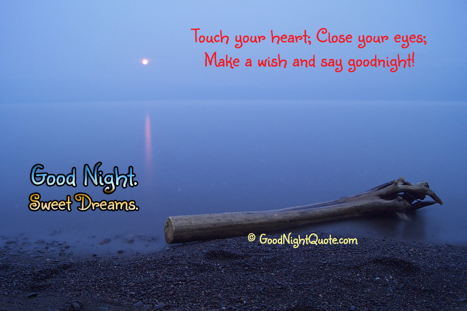 Good Night Sayings - Close your eyes